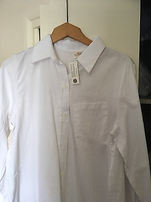 BNWT White Maternity Shirt