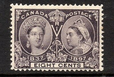 Canada QV 1897 Jubilee Issue 8c Slate-violet SG 130 MM Cat £40