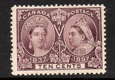 Canada QV 1897 Jubilee Issue 10c Purple SG 131 MM Cat £65