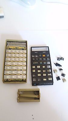 Hewlett Packard HP 25 Calcolatrice Calculator Taschenrechner + original CASE