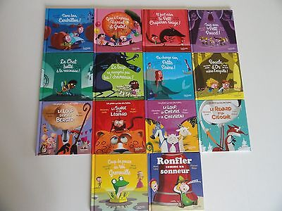 Lot de 14 livres Mc Do - Contes, fables, ...