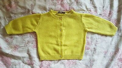 100% pure cashmere baby boy or girl cardigan by Caramel Baby & Child! 3 months