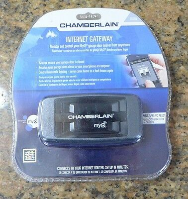 Chamberlain LiftMaster MyQ Internet Gateway for Garage Door Opener CIGBU NEW!