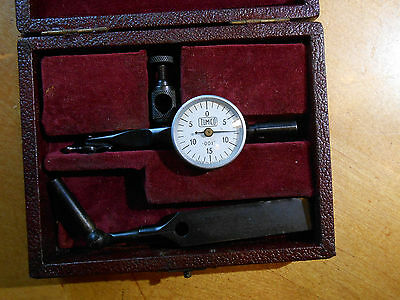 """Vintage TUMICO Dial Test Indicator .001"""" in Box Made in England"""