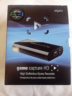 Elgato game capture HD with original box and leads