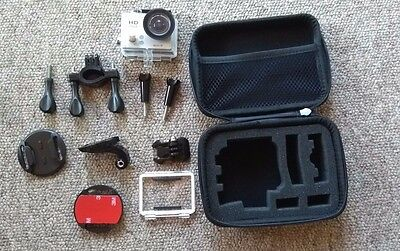 Tec+ Action Camera 1080p waterproof to 30m silver