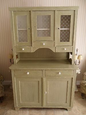Beautiful Distressed Welsh Dresser With Lockable Doors