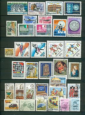Hungary stamps collection used