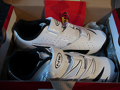 Northwave Cycling Shoeshammer Srs Spd New Size 9 1/2 ( Euro 43 ).unworn, White.