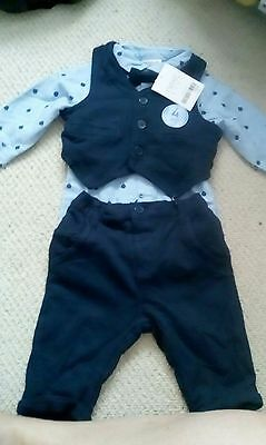 BNWT 3-6m Baby Boy Next 4 piece outfit (formal occasion)