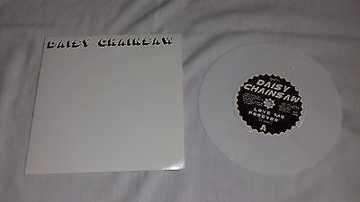 """Daisy Chainsaw 7"""" - Love Me Forever - One Little Indian records - 1994 - White"""