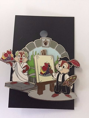 Museum of Pin-tiquities - LE 500 -  Chip & Dale Painters - AP Pin
