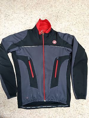 Castelli  winter road cycling jacket  size M
