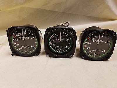 United Instruments Part# 8000 Airspeed Indicator