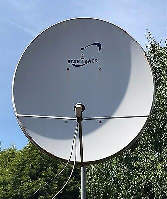 Satellite dish Star Track 160cm / With bracket and pole