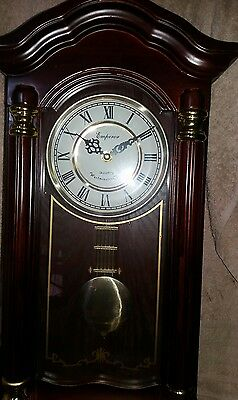 Emperor Westminster chimes wall clock