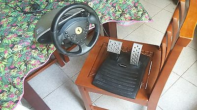 Volant + pedales ps2/ps1 Thrustmaster 360 Modena Racing