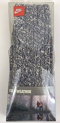 """New Vintage Nike """"cold Weather"""" Pro Line Socks In Original Package Made In Usa"""