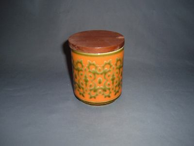 Hornsea Pottery   Vintage Geometric Sugar Pot, with Lid.  (17)