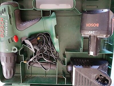 Bosch Cordless Hammer Drill 24V  PSB 24 VE-2 inc charger