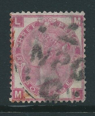 GB 1867 SG 103 used pl.10 cat. £150