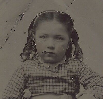 Antique Mixed 4 Pc Lot Of Very Clear Images Tintype Portraits