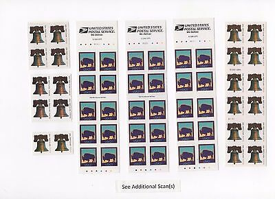 Discount Postage Stamp Combos - Enough to Mail 30 Two Ounce Letters  FV = $21.00