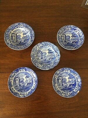 Vintage Copeland Spode Italian Job Lot Made in England Bowls Saucers Side Plate