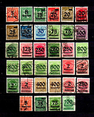 Germany 1923 Inflation O/p Used