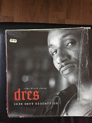 Dres (Black sheep) - Sure Shot Redemption Album Hip Hop Vinyl