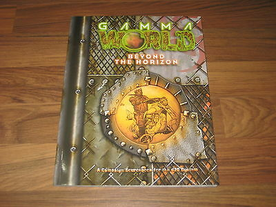 Gamma World Beyond the Horizon 2004 Sourcebook d20 SCWizards Of The Coast