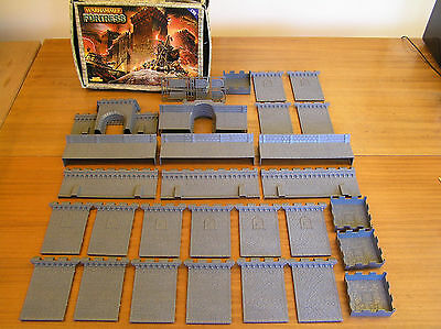 Warhammer Fortress  In Box Complete & Unmade Castle Fantasy Lotr