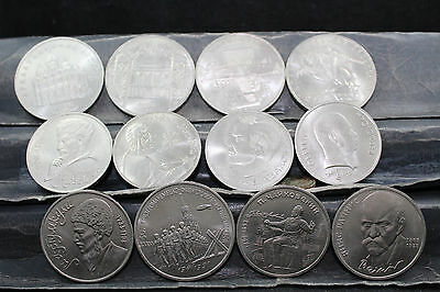 CCCP - Russia 12  assorted coins   lot G 838