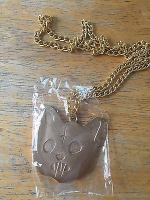 OFWGKTA Odd Future Cat Chain necklace pendant Rare