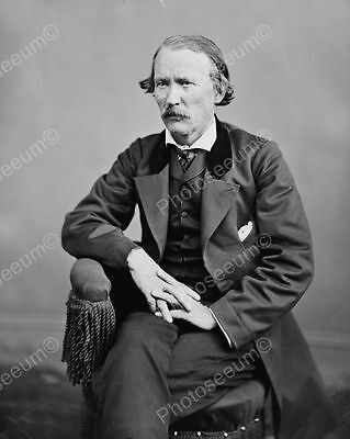 Christopher Kit Carson Vintage 8x10 Reprint Of Old Photo