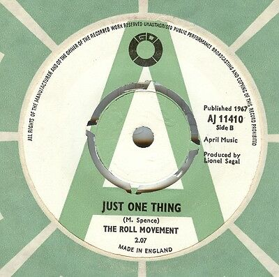The Roll Movement**just One Thing**demo**mod**listen To It