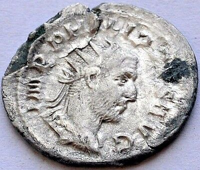 ANCIENT SILVER ROMAN COIN Philip ORIGINAL Antoninianus