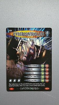 Doctor Who Battles in Time Super Rare EXTERMINATOR card #169 CYBERCONTROLLER