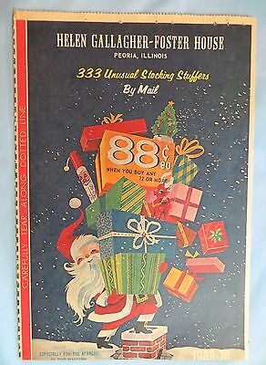 Helen Gallagher-Foster House Christmas 1969 Catalog 333 Unusual Stocking Stuffer