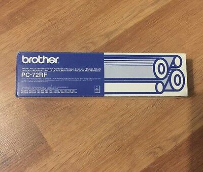 Brother PC-72RF Pack Of 2 Refill Rolls, Brand New Unopened