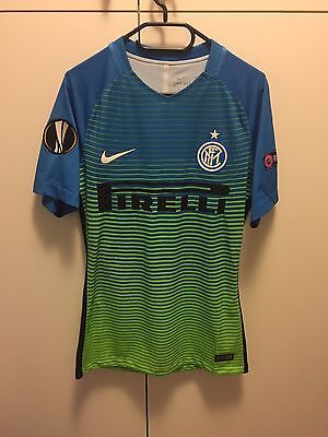 Maglia Trasferta  Inter Europa League Brozovic  Match Worn