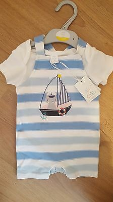 Boys outfit from Mini club Age 3-6 Months NEW WITH TAGS