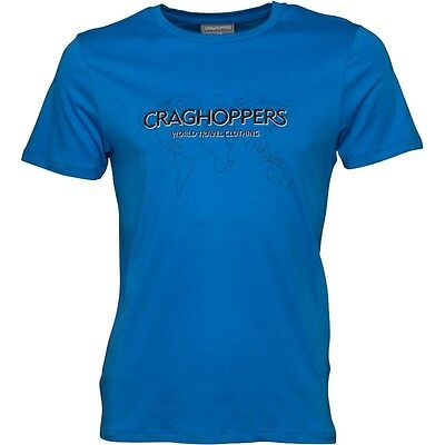 Craghoppers Sport Blue Graphic T-shirt in medium