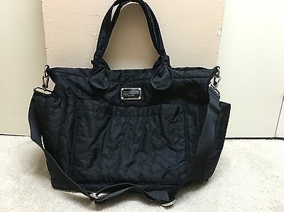 Marc By Marc Jacobs Eliz-A-Baby Black Diaper Bag, Large Tote