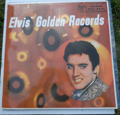 "ELVIS PRESLEY Golden Records 12"" Vinyl LP Gatefold  RB-16069 RCA Red Seal"