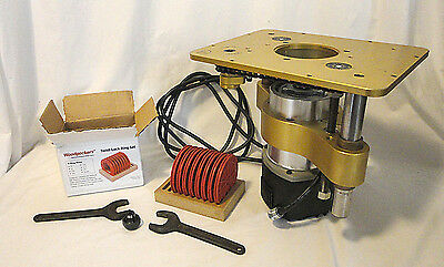 Used Porter Cable Type 1 A2062 router with router lift