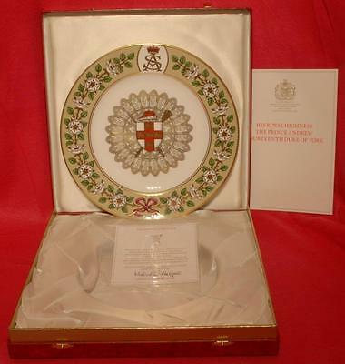 Spode/Mulberry Hall The Duke of York Plate Boxed L/Ed: 582/1000 1987