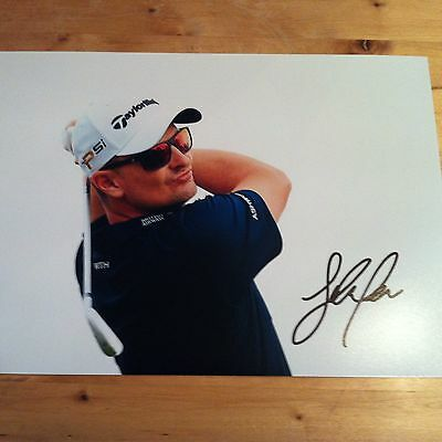 JUSTIN ROSE ( GOLF ) signed autographed 12x8 photo