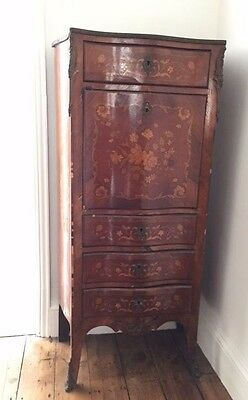 A genuine antique French Kingwood Cabinet Bureau Escritoire.