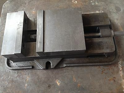 Kurt D 80 Precision Machine Vise - Manufacturing Workholding Heavy Duty